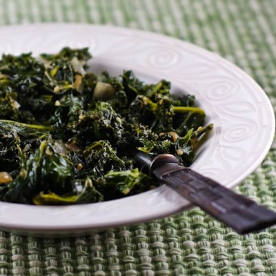 Easy Italian Style Kale | The Candida Diaries