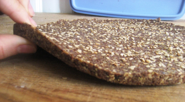 Flat Bread and Crackers, or, Why I Love Flax | The Candida Diaries