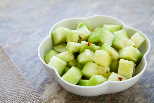 Sesame Cucumber Salad | The Candida Diaries