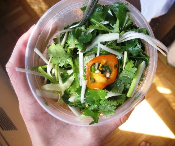 sesame and cilantro vermicelli salad chinese cucumber salad sesame ...