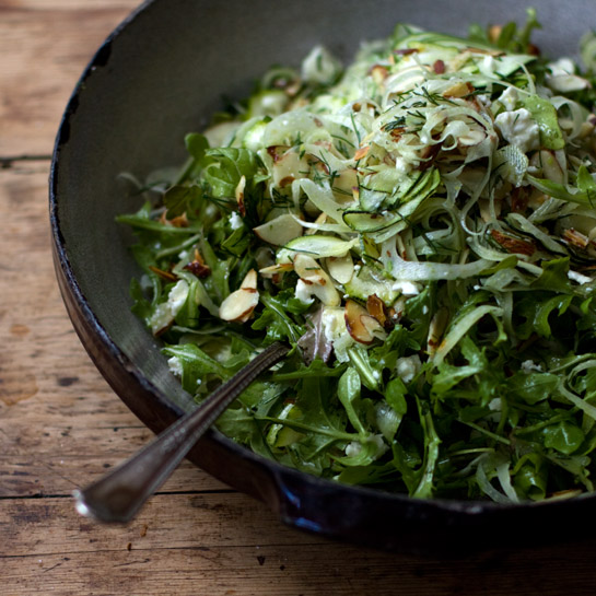 Shaved Fennel Salad | The Candida Diaries