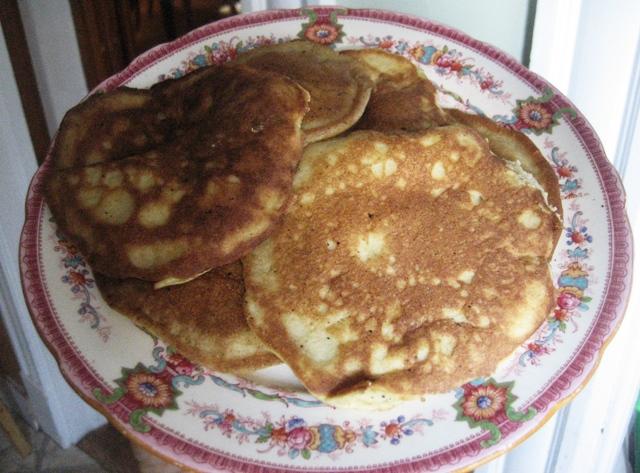 Savory Coconut Pancakes Recipe — Dishmaps