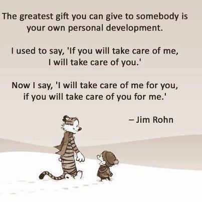 self care calvin n hobbes