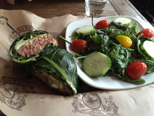 bareburger collard wrap